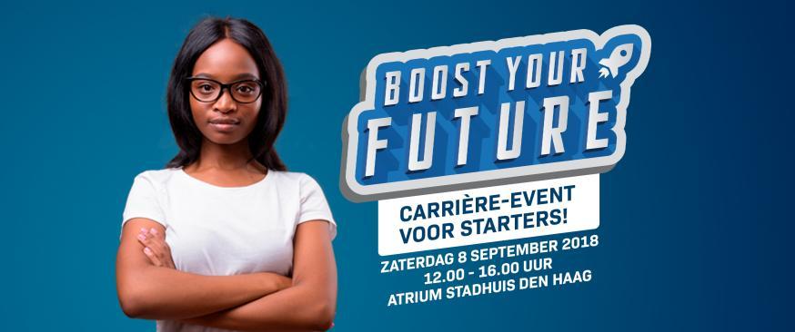 Boost Your Future: Den Haag en ondernemers dagen startende jongeren uit