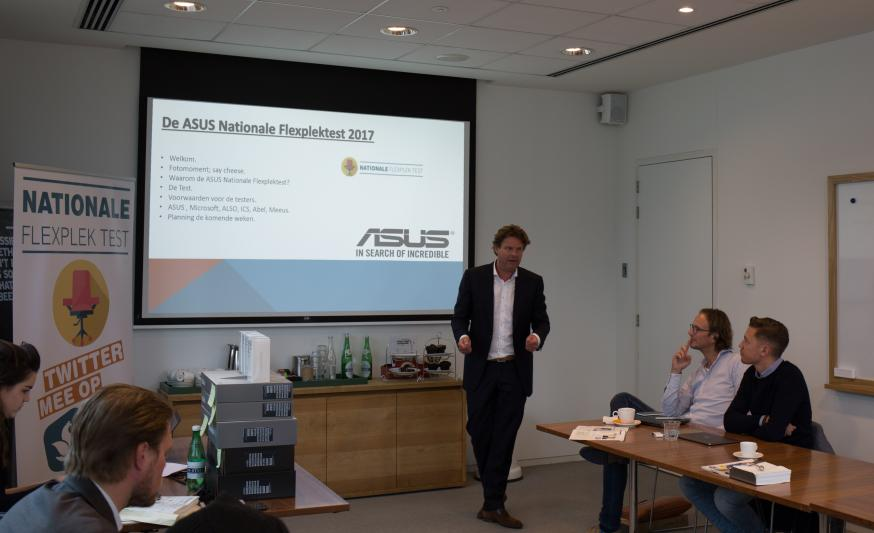 De ASUS Nationale Flexplektest gaat van start