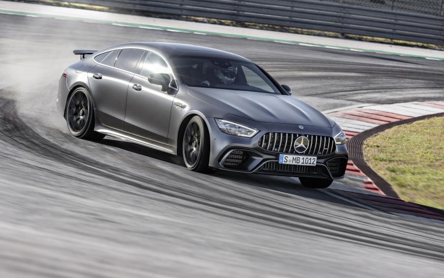 Presto! De V8-versies van de Mercedes-AMG GT 4-Door Coupé