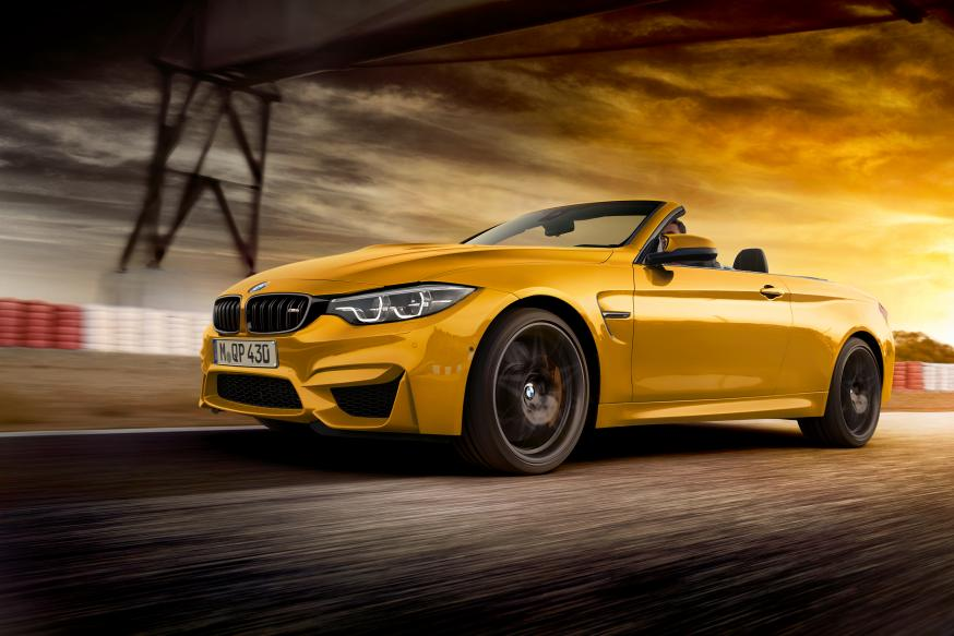 Het is lente met de BMW M4 Cabrio Edition 30 Jahre