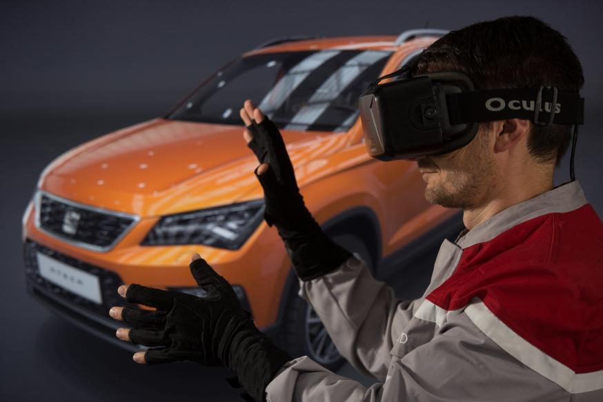 Zo zet SEAT virtual reality in...
