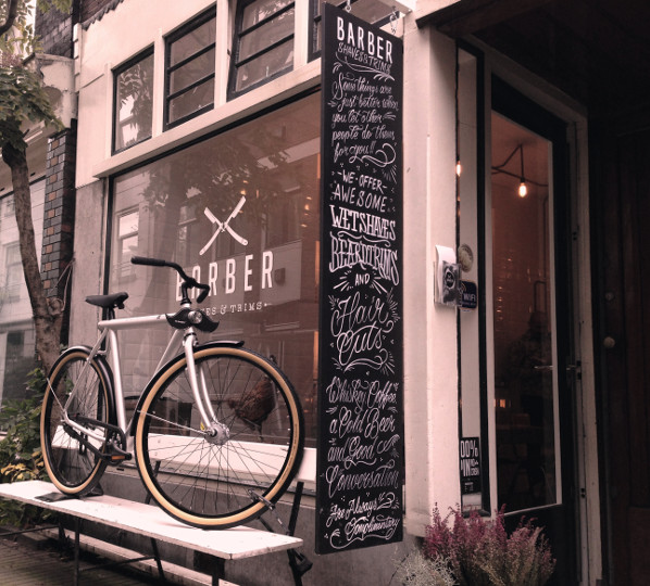 VANMOOF x Barber