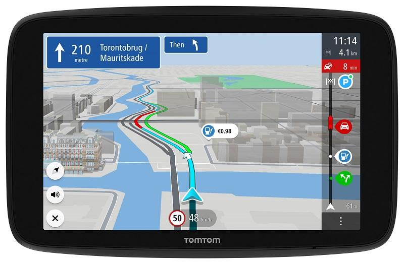 TomTom, TomTom GO Discover, locatietechnologie, navigatiesysteem, gadget, Bluetooth