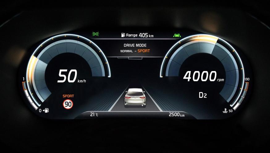 KIA, Kia XCeed, volledig digitaal instrumentarium in Kia XCeed, High-tech, Automotive