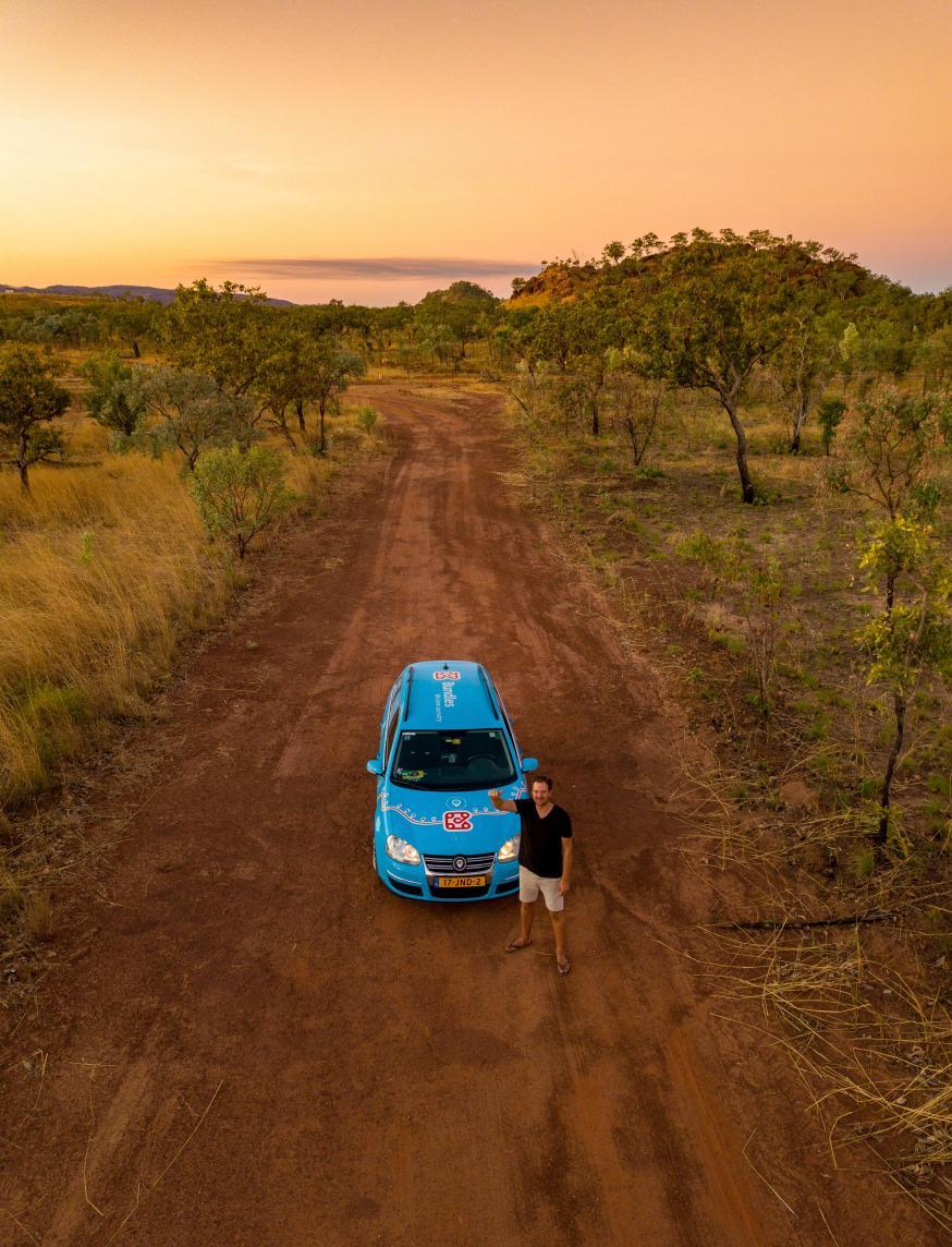 In 884 dagen tijd met je elektrische auto naar Perth, Australië
